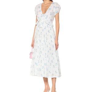 NWOT LoveShackFancy Carlton Floral Dress 00